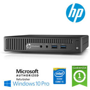 UltraSlim PC HP EliteDesk 800 G1 DM Core i5-4590T 3 0GHz 8Gb Ram 500Gb  noODD Windows 10 Professional